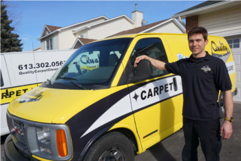 Lorand Nagy of Quality Carpet Cleaners